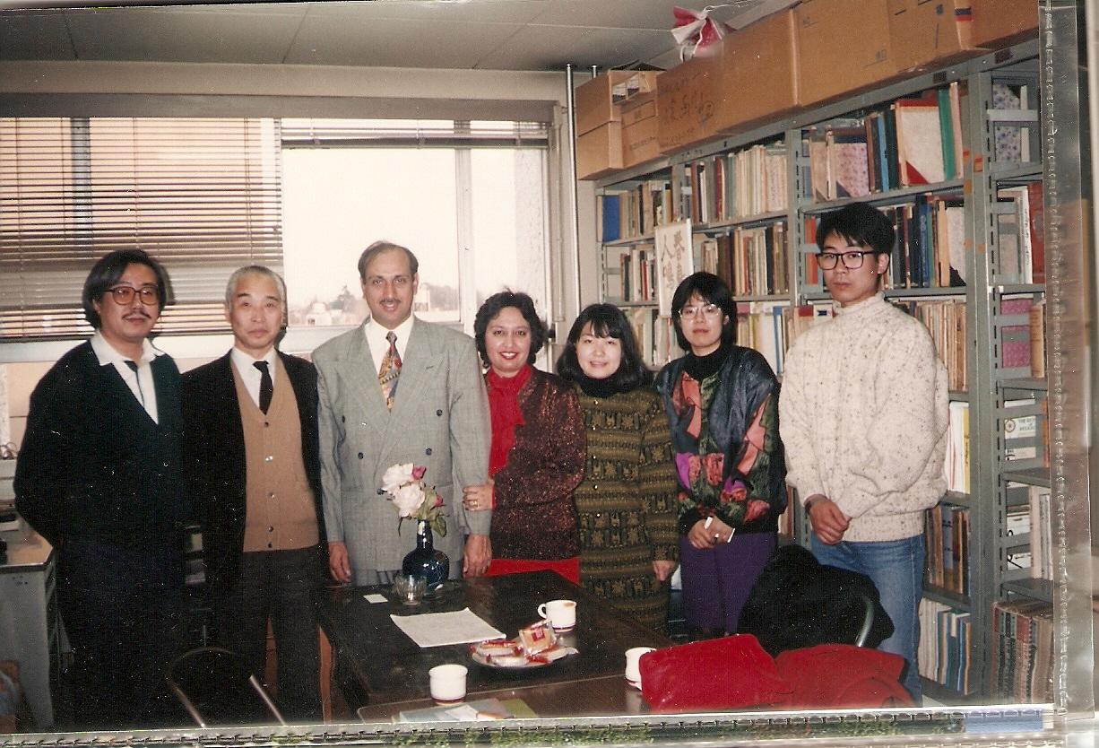 A in Tokyo Uni Urdu Dept