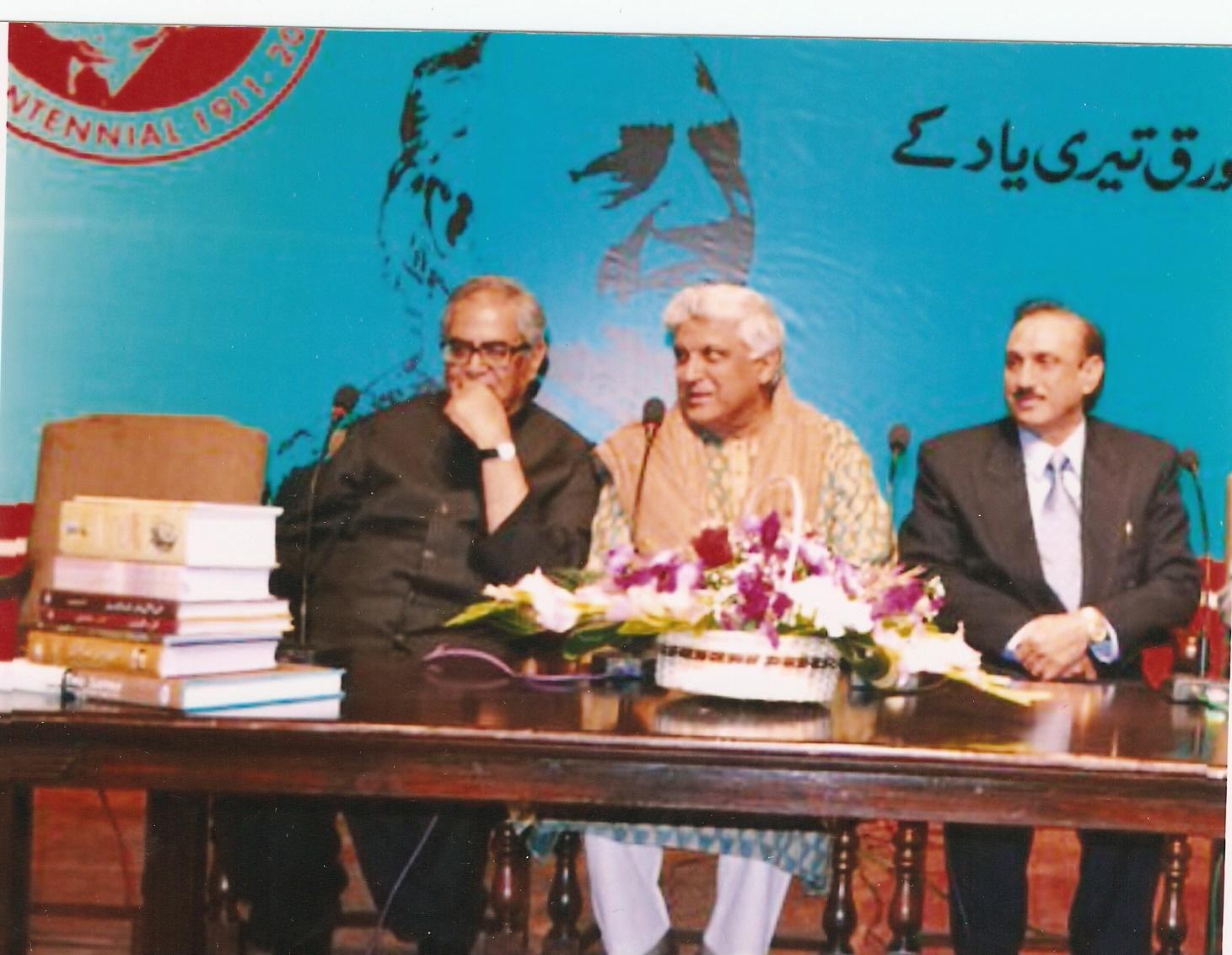 Ashfaq 2011 Javed Akhtar
