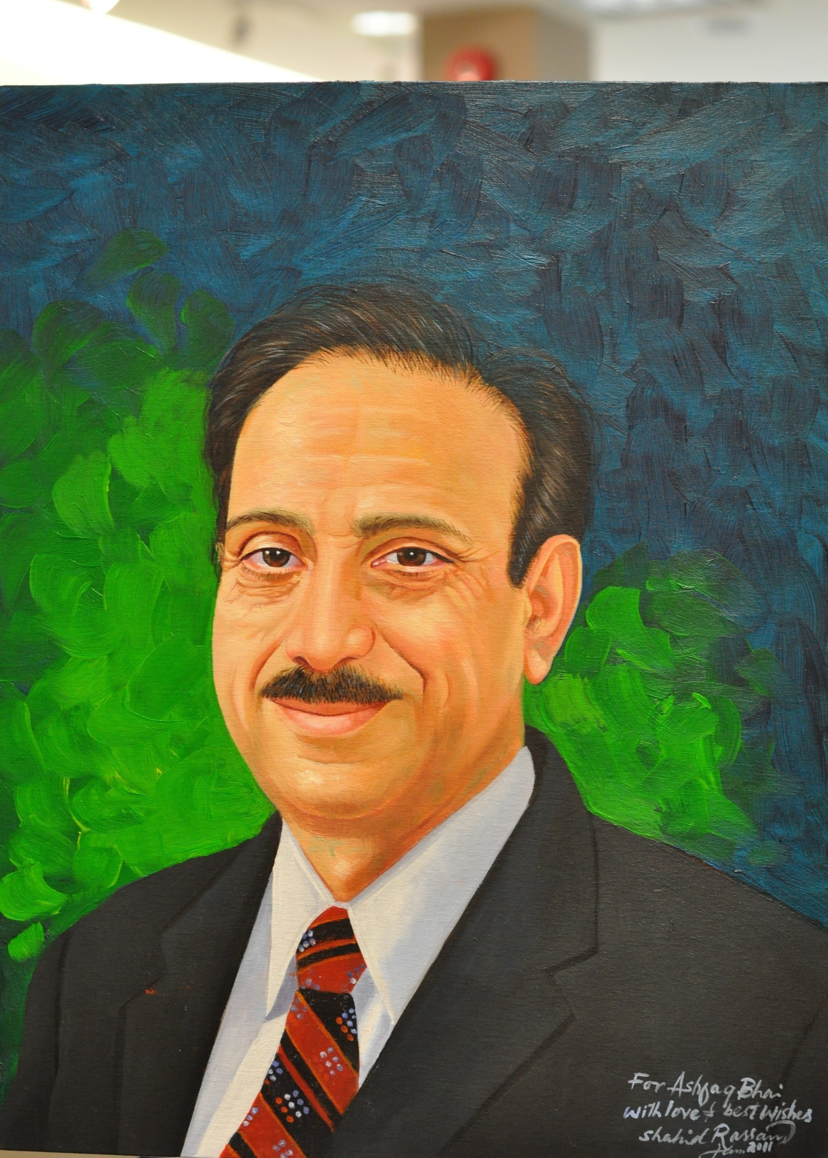 Ashfaq Paint Portrait