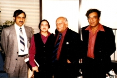 A with Faiz saheb